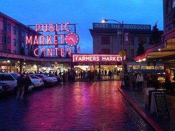 Fish Market, Seattle