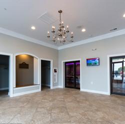 Foyer with coat room