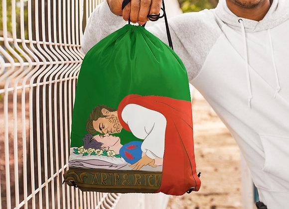 Enchanted K-Apple Drawstring bag