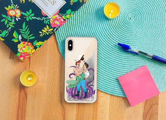 Part of your World Liquid Glitter Phone Case