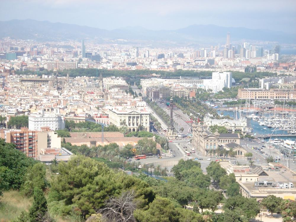 Barcelona Milimari unterwegs