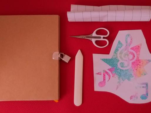 Plotten mit Vinylfolien - Wir gestalten ein Tagebuch