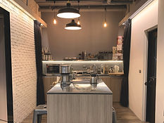 Life Area Cowroking Space 共同工作空間 共同空間 共享空間 的廚房與交誼廳  位於台北市 公館 鄰近台大 可日租 月租