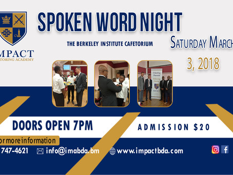 Impact Mentoring Academy to Host Annual Spoken Word Night Fundraiser