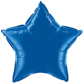 Mylar 18inch Blue Star