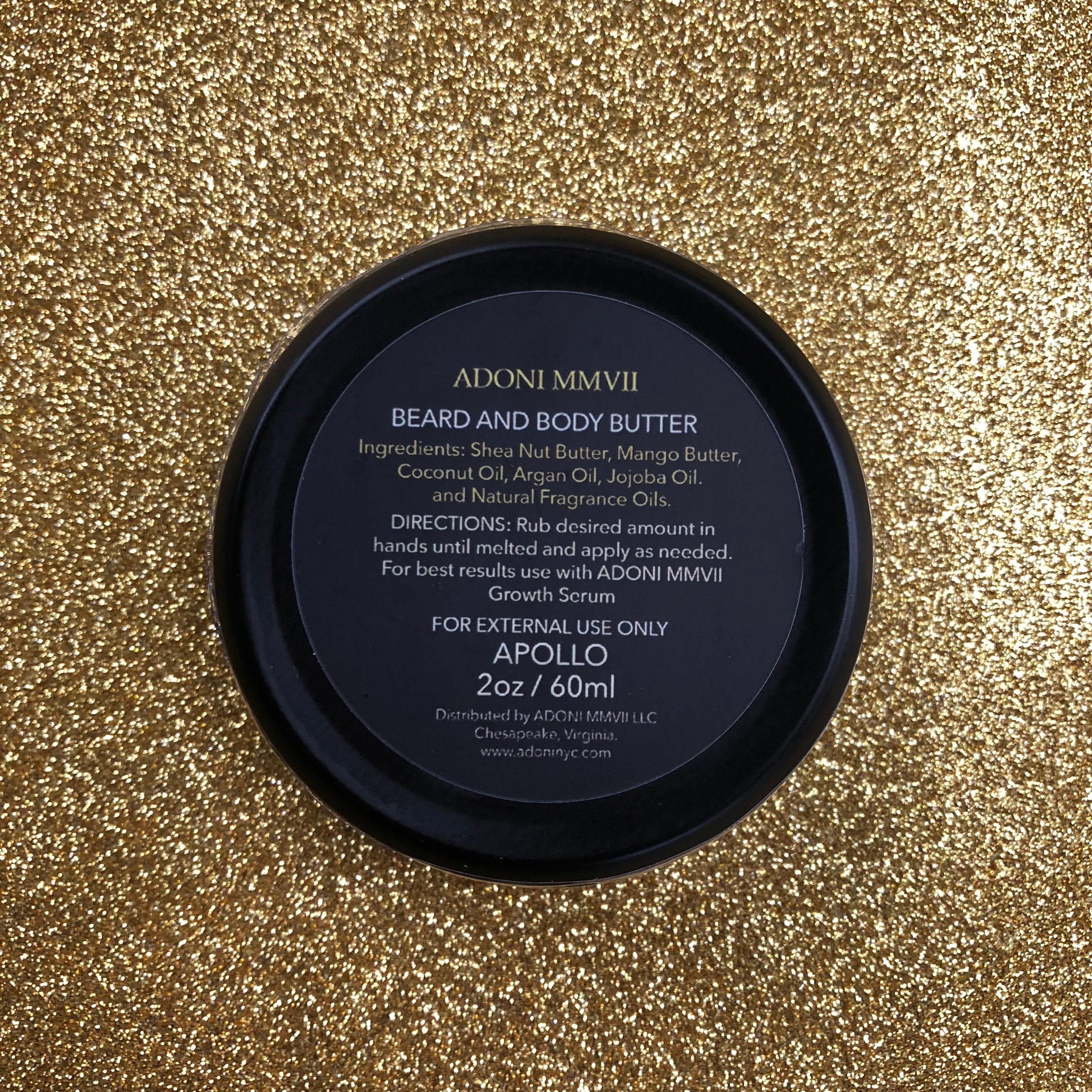 Beard Butter | ADONI MMVII