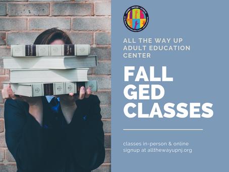Fall 2021 Class Registration is Open!