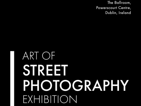 OPENING NIGHT ART OF STREET PHOTOGRAPHY EXHIBITION DUBLIN