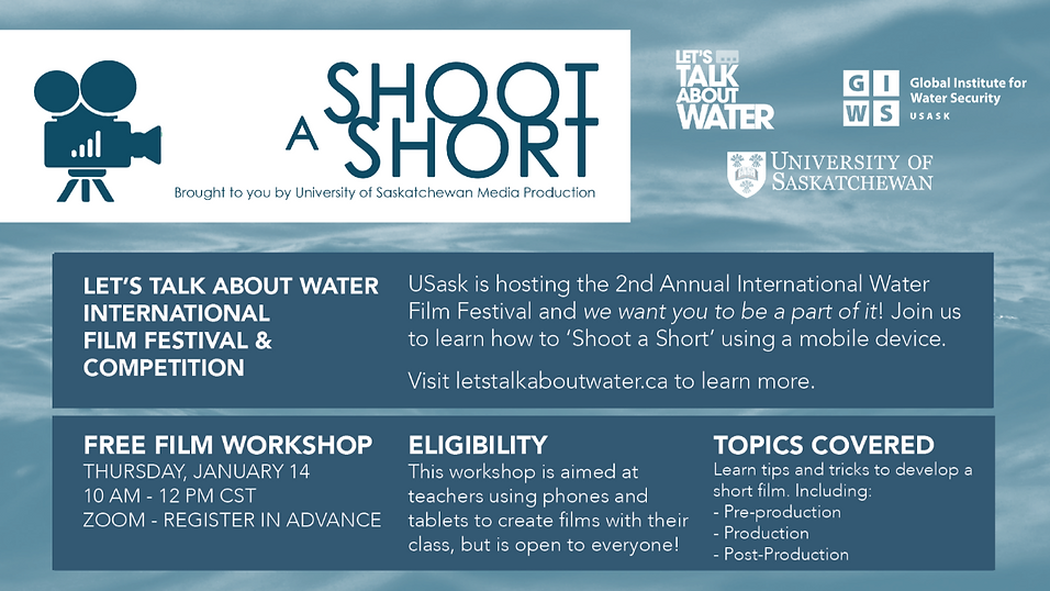 """Shoot a Short"" Virtual Workshop 