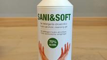 Tover Sani&Soft antiseptische hand gel