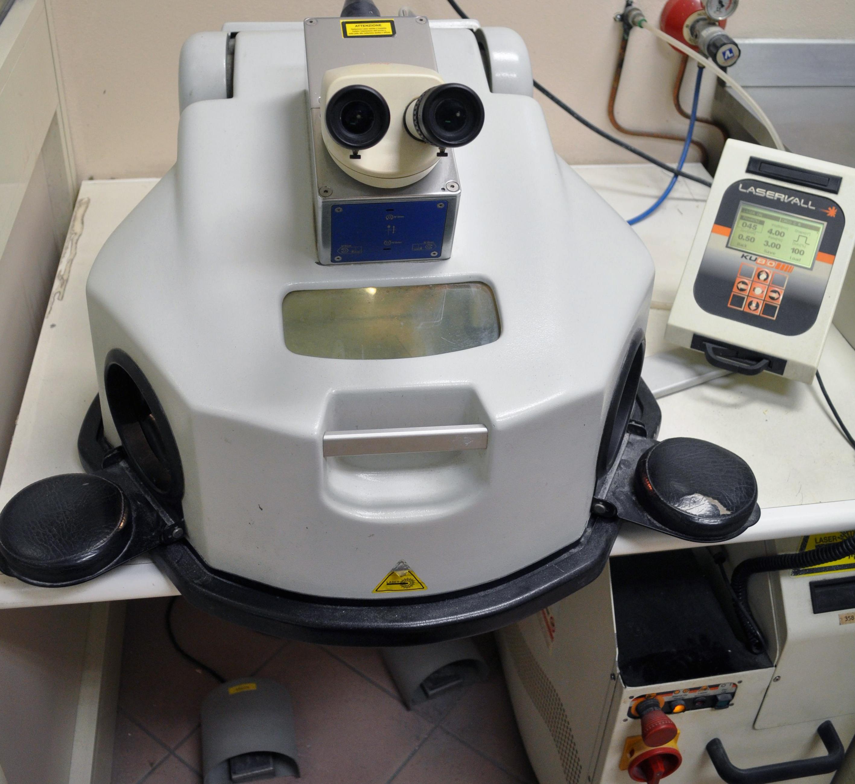Saldatrice laser Laservall D-entity