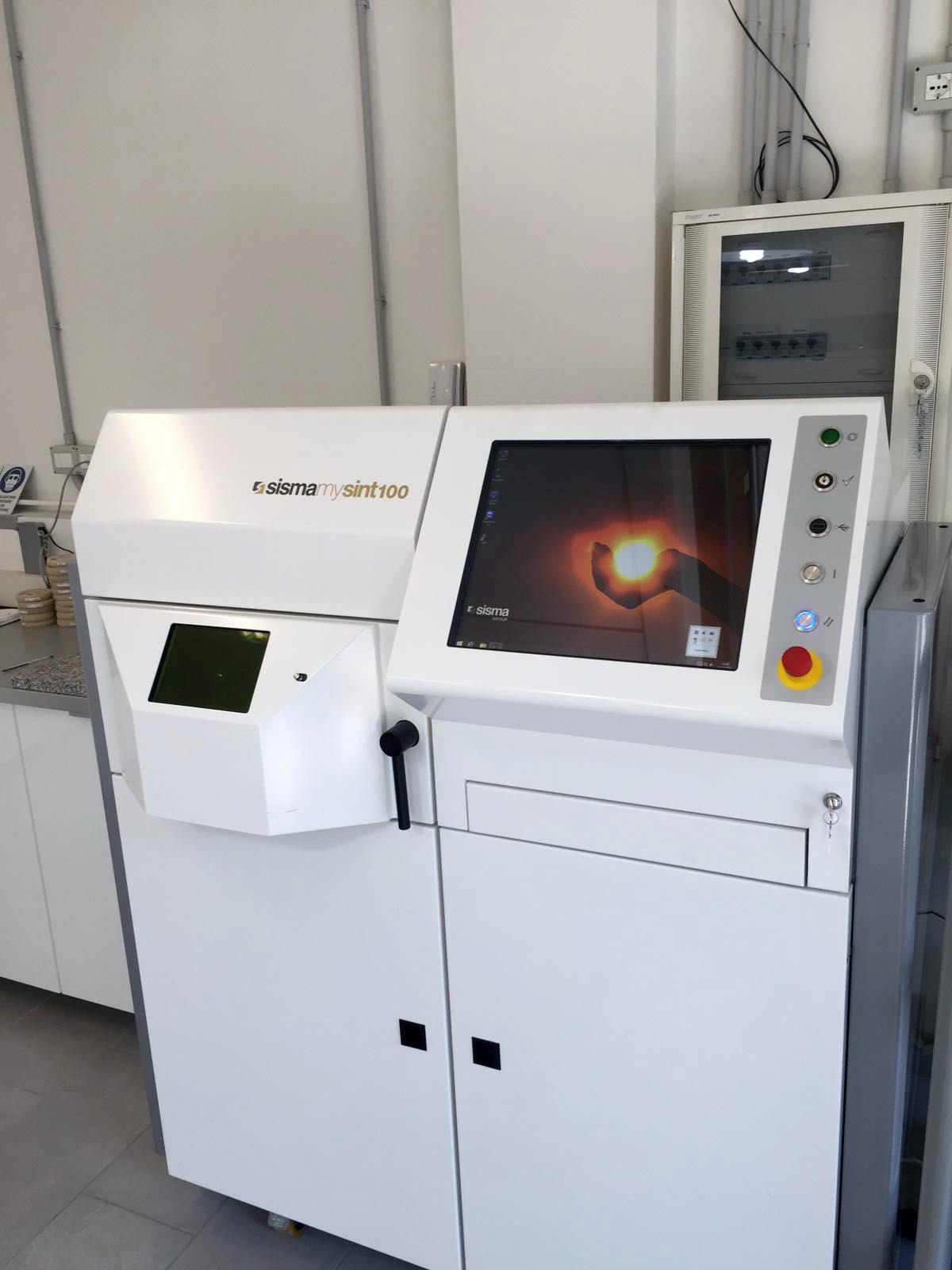 Macchina per Laser Metal Fusion - Mysint 100 Sisma