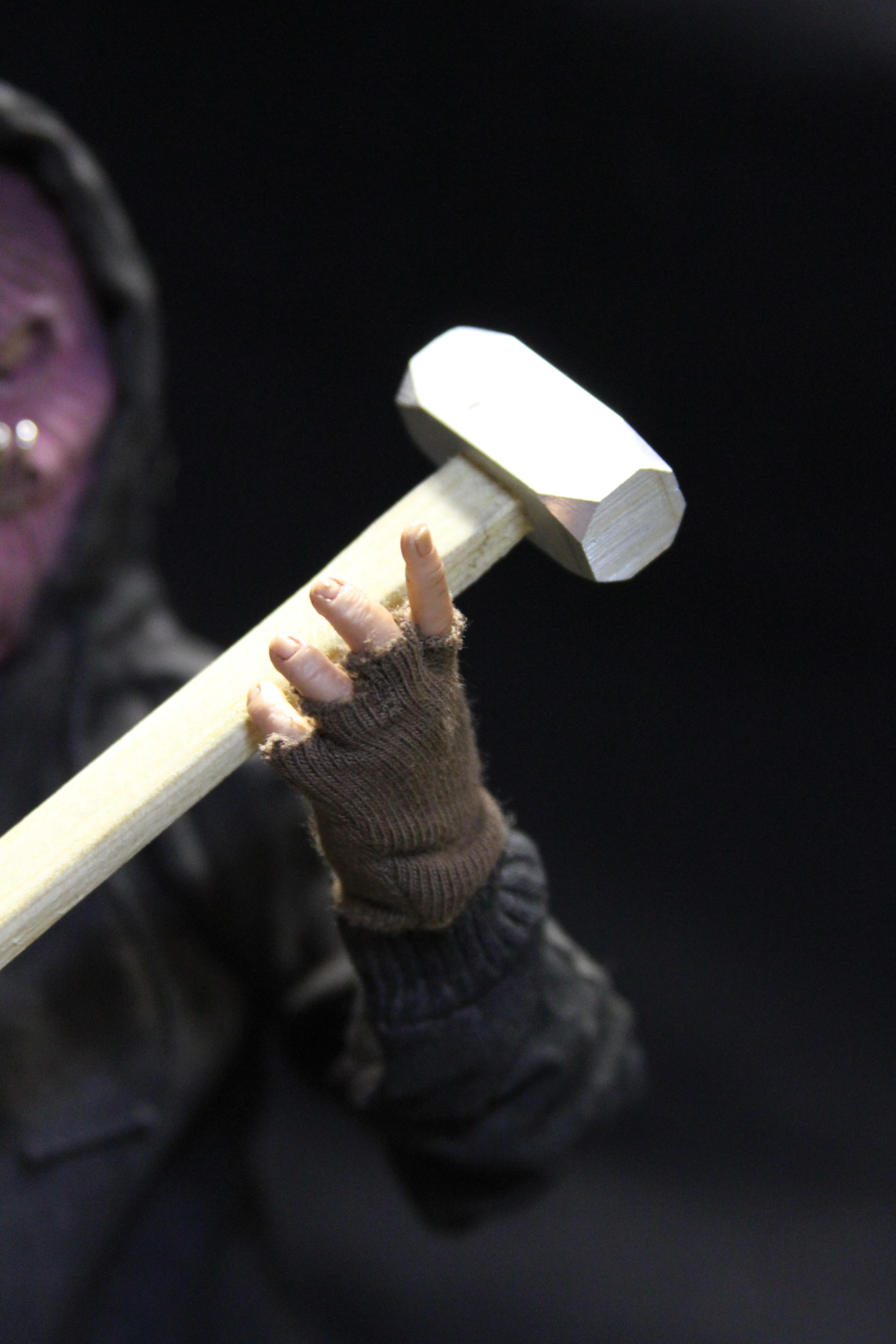 sledgehammer & glove