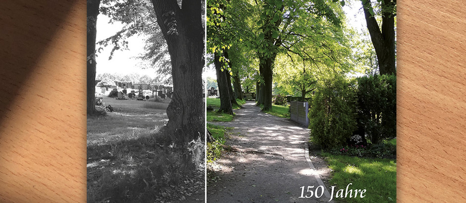 150 Jahre Neuer Friedhof / Broschüre zur Geschichte des Friedhofs