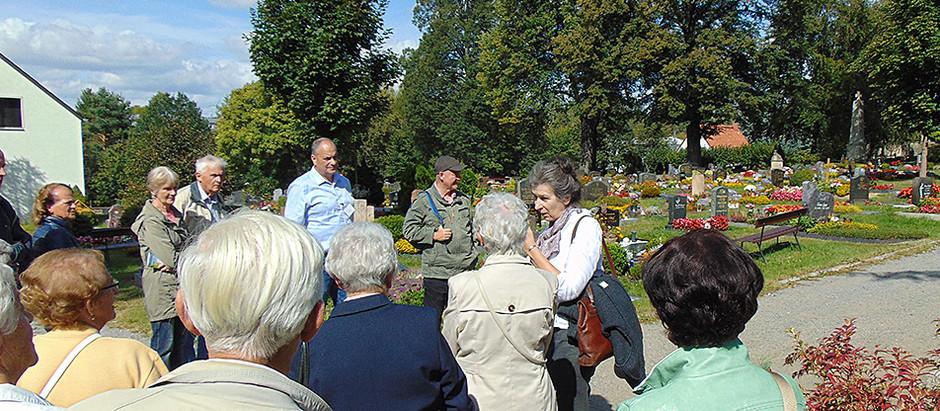 Rückblick Tag des offenen Friedhofs – 150 Jahre Neuer Friedhof