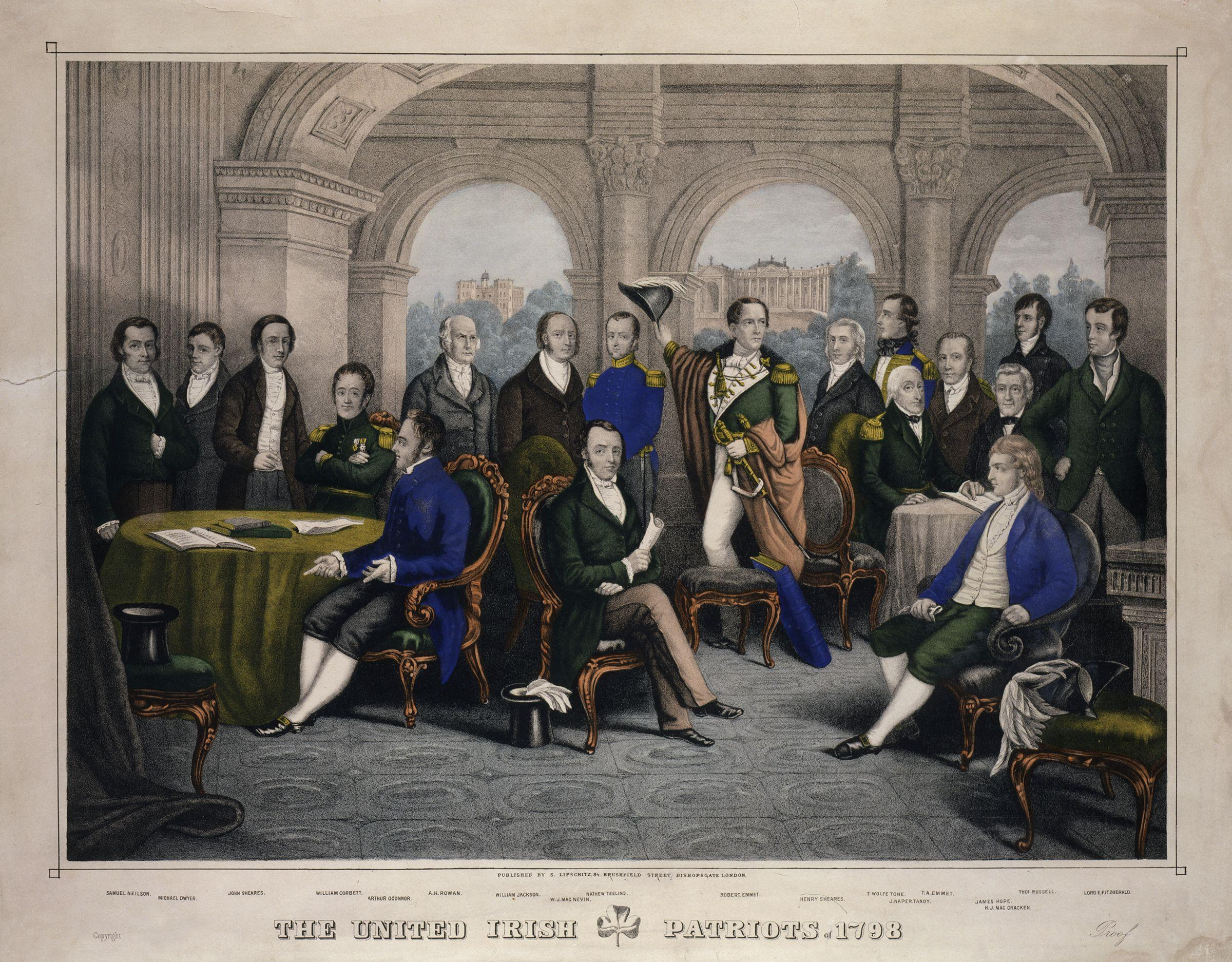 The United Irish Patriots of 1798 from NPG
