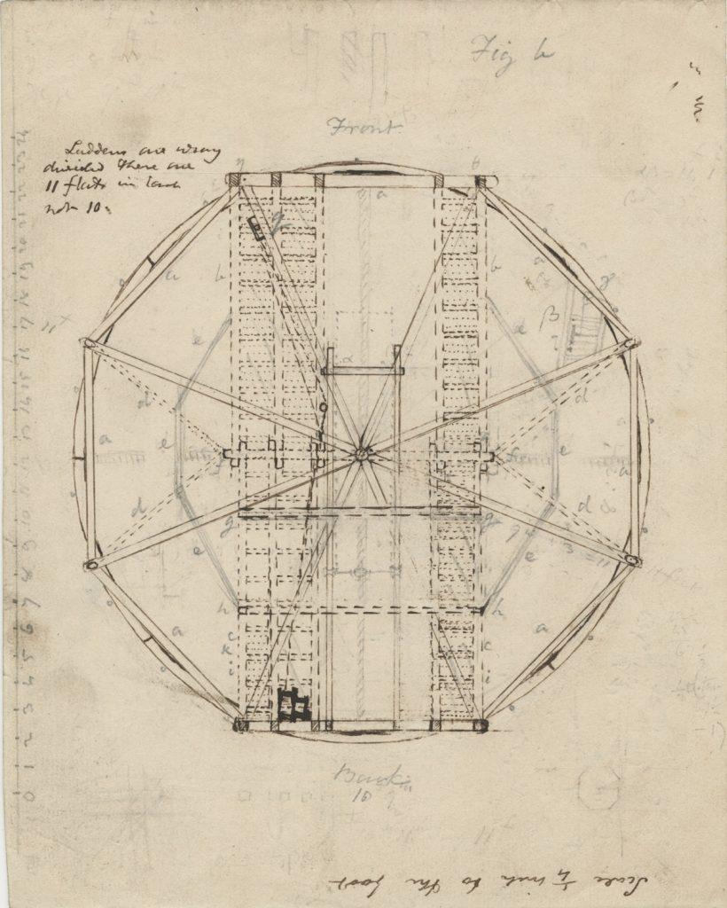 John Herschel's 20-foot reflector