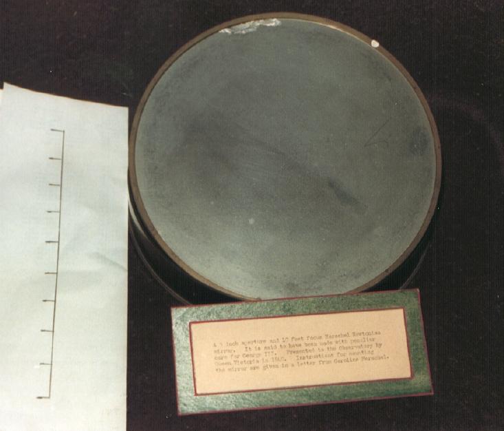 Herschel's 9 inch mirror