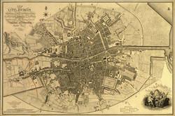 Map of Dublin 1797