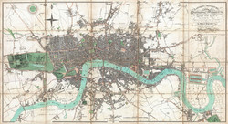 Map of London 1806