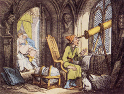 The Astronomer Distracted