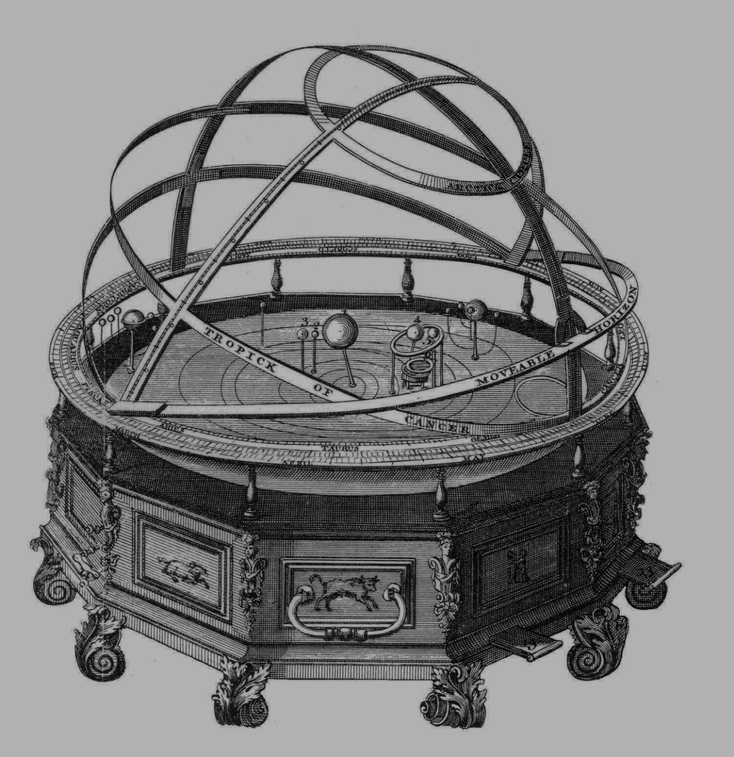 Rowley - Grand Orrery 1749