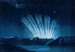 The Great Six-Tailed Comet of 1744