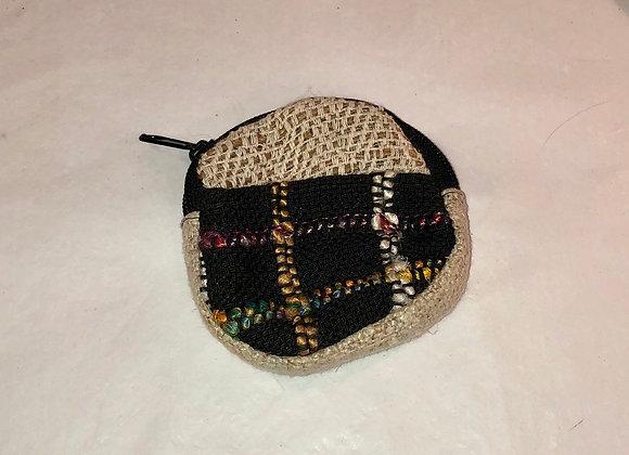 Boho woven purse