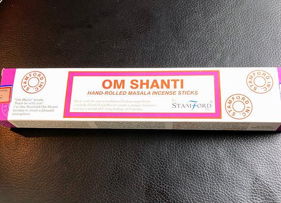 Om Shanti Incense Sticks