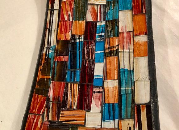 Mosaic incense holder