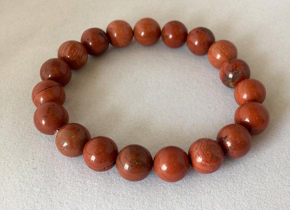 Red Jasper 8mm Elasticated Bracelet