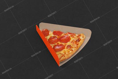 Pizza cut tray