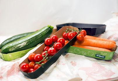Vegetable and fruit packaging, Cardboard punnets for fruit and vegetables, trays for tomato cherrys, plitice za rajčice, eko ambalaža za povrće