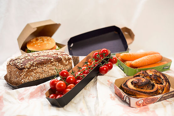 recyclable food packacing trays