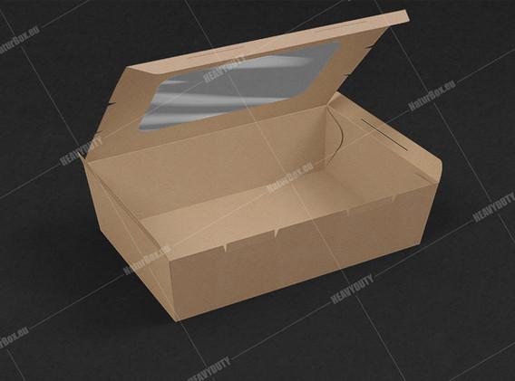 open salad box