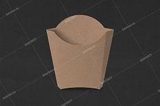 fries box. pomfrit tray