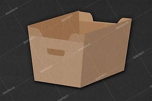 Cashier box, in store box