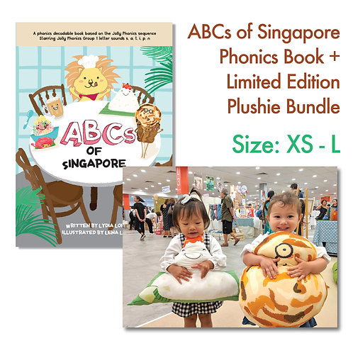 Phonics Book + Limited Edition Handmade Plushie