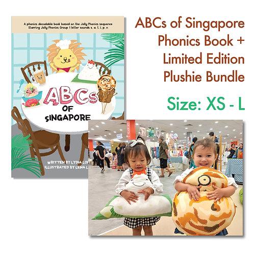 Phonics Book + Limited Edition Handmade Plushie