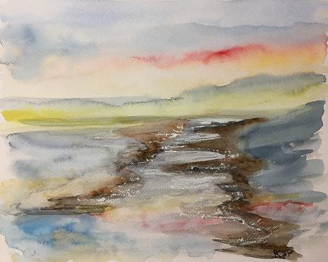An Imaginary Landscape Fine Art Print