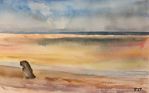 Brancaster Beach, North Norfolk Fine Art Print