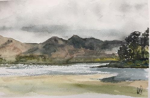Catbells Derwent Water Fine Art Print