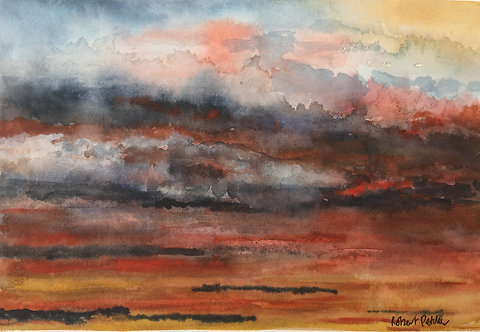 Watercolour Skyscape