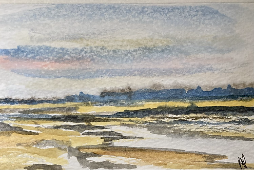 Brancaster Beach Fine Art Print