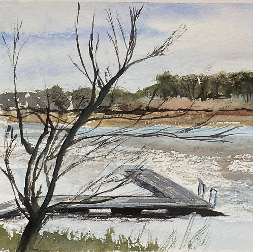 Thornton Reservoir -Original Watercolour