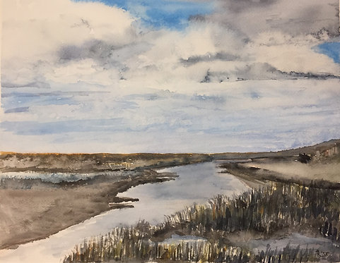 Old Hunstanton Marshland