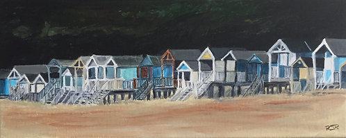 Beach Huts at Wells-Next-The-Sea