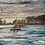 Thumbnail: Red Sails in a Norfolk Sunset Print on Canvas