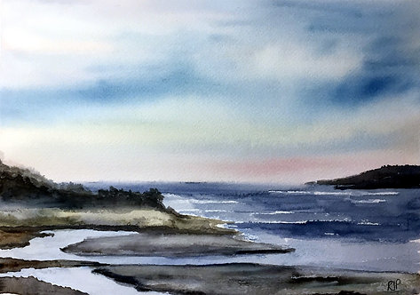Poppit Sands Cardigan Bay Fine Art Print