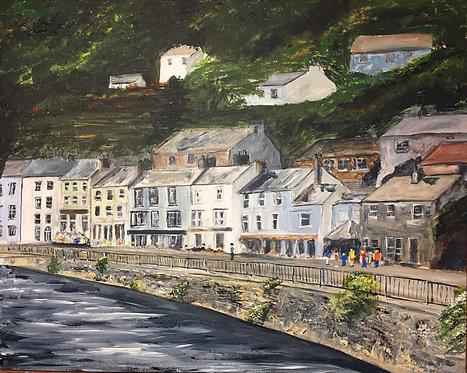 Matlock Bath Print on Canvas